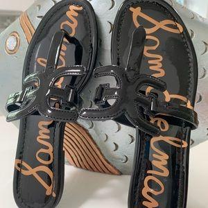 Sam Edelman patten leather sandals